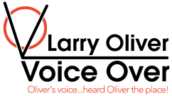 Larry Oliver Voice Over Branding Logo
